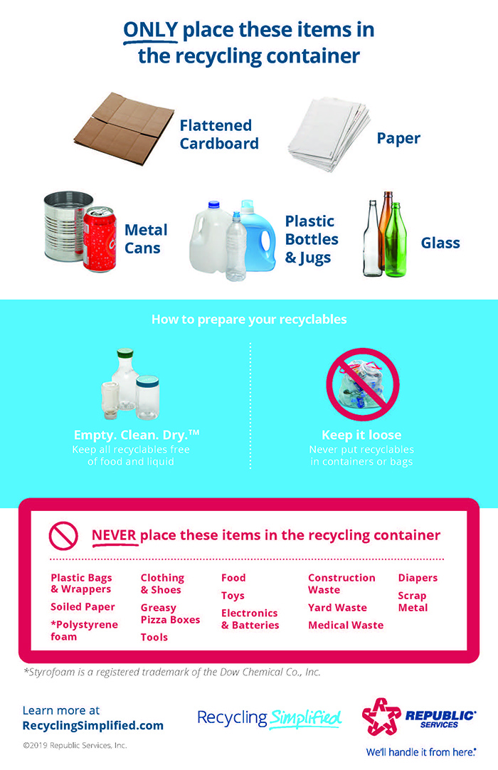 eng recycling simplified quick reference guide